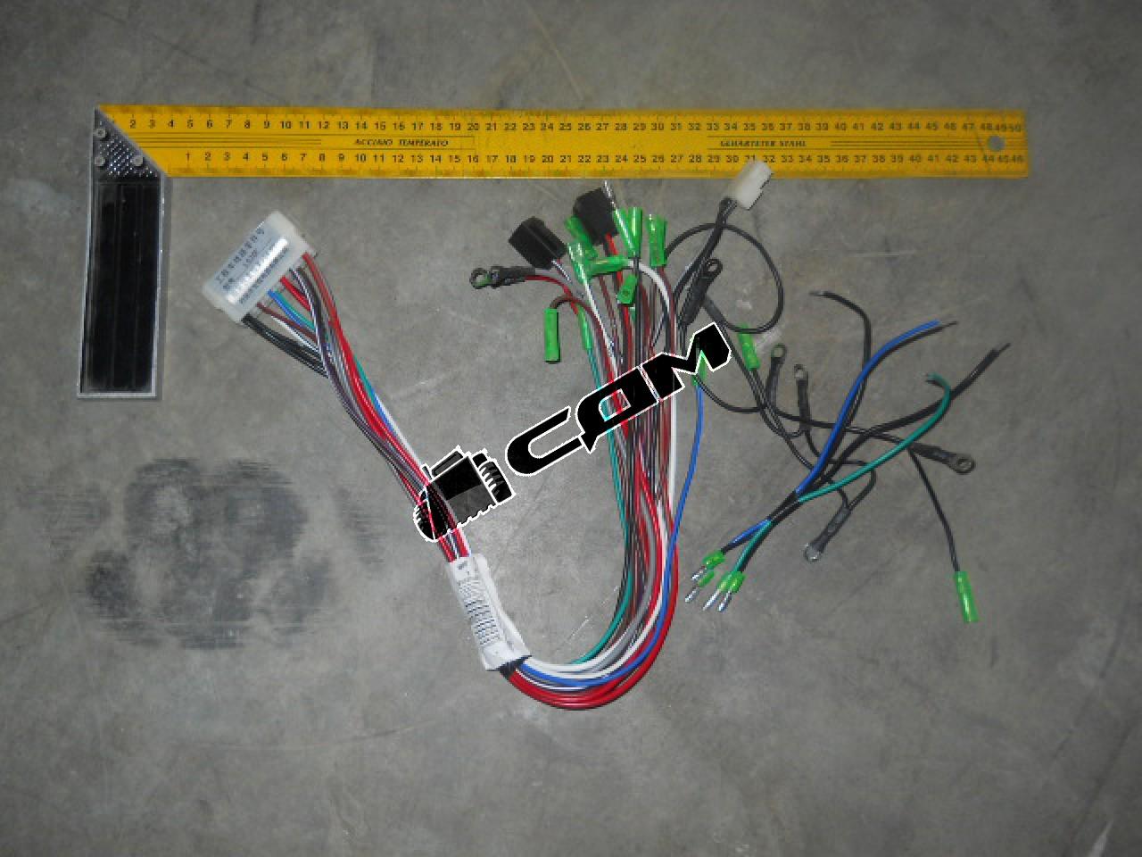 Жгут проводов с колодкой CDM833. 15 V .07